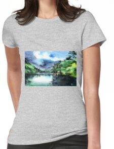 A Bridge Not Too Far Womens Fitted T-Shirt