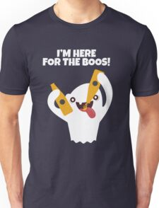 Ghost Here For The Boos T Shirt Unisex T-Shirt