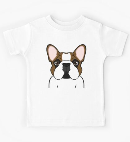 Frenchie - Fawn Pied Kids Tee