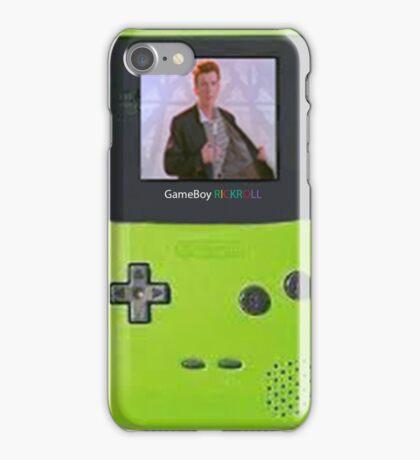RickRoll iPhone Case/Skin