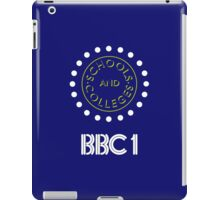 BBC1 Schools and Colleges - 1980s iPad Case/Skin