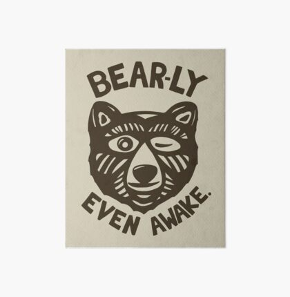 HI(BEAR)NATE Art Board