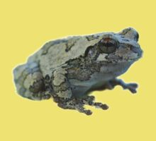 Gray tree frog Kids Tee