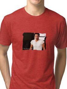 My Kind Of Man (Keanu Reeves Portrait) Tri-blend T-Shirt
