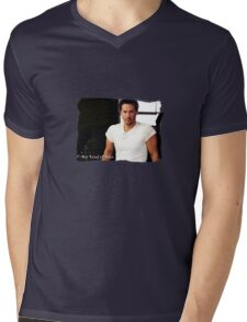 My Kind Of Man (Keanu Reeves Portrait) Mens V-Neck T-Shirt