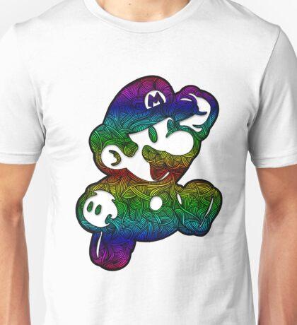 Hand Drawn Zen Doodle Invincible Plumber  Unisex T-Shirt