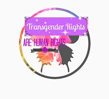 Transgender Rights Are Human Rights - Purple Tank Top