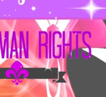 Transgender Rights Are Human Rights - Purple Sticker