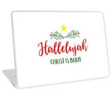 Christmas Hallelujah Laptop Skin