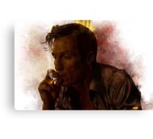 True Detective - Rust Cohle Canvas Print
