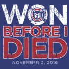 Chicago Cubs Won Before I Died World Series Shirt by ColoradoThreads