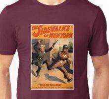 Vintage Sidewalks of New York Broadway Play Unisex T-Shirt