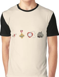 Wizard Of Oz (may contain spoilers) Graphic T-Shirt