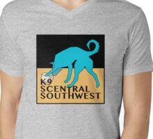 K9 Central Southwest Logo Mens V-Neck T-Shirt