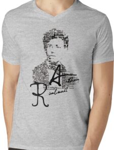 Rimbaud Mens V-Neck T-Shirt