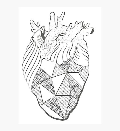 Heart to Heart Photographic Print