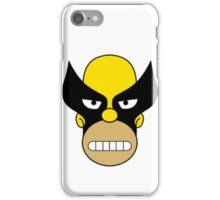 Homer Simpson Wolverine Mask iPhone Case/Skin