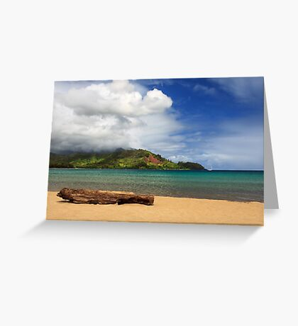 A Lazy Day In Hanalei Greeting Card