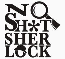 No Sh*t Sherlock One Piece - Short Sleeve
