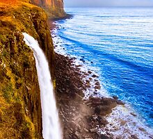 Kilt Rock And Mealt Falls On The Beautiful Isle of Skye by Mark Tisdale