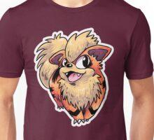 Flame Puppy Woof Unisex T-Shirt