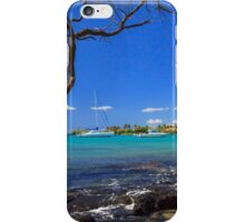 Boats At Anaehoomalu Bay iPhone Case/Skin