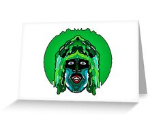 Old Gregg - Mighty Boosh Greeting Card