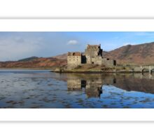 Eilean Donan Castle - Panorama Sticker