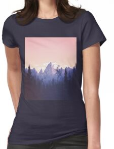 Lovely Cute Nature Art Work Painted Womens Fitted T-Shirt
