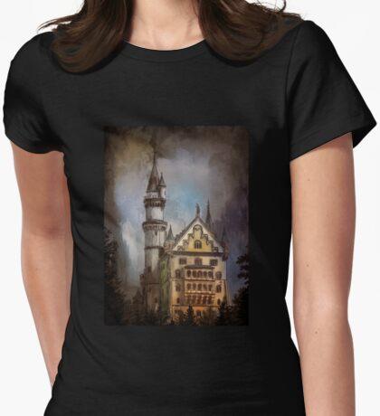 Castle Neuschwanstein Womens Fitted T-Shirt