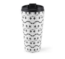 Panda honeycomb Travel Mug