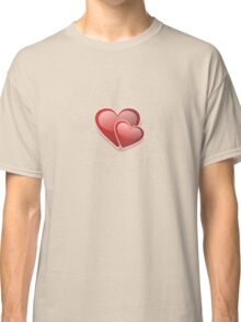 Valentine Decorative T-shirt - Two Hearts, Two Souls Classic T-Shirt