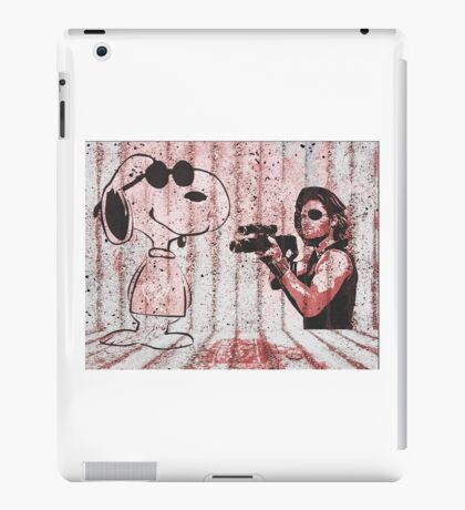 Snake and Joe iPad Case/Skin