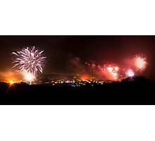 Lewes Bonfire Panorama Photographic Print