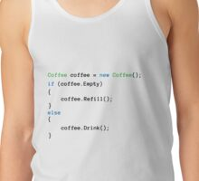 Coffee code Tank Top