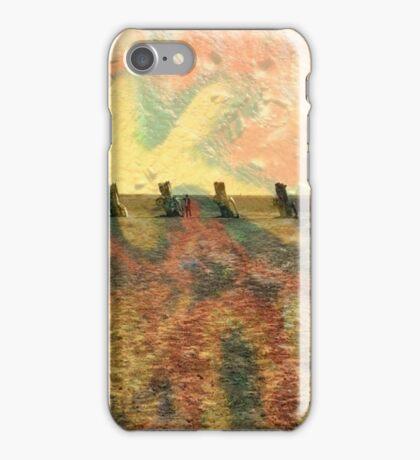 Cadillac Ranch iPhone Case/Skin