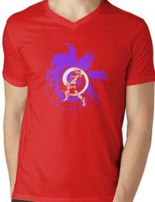 Saint Seiya Pegasus Mens V-Neck T-Shirt