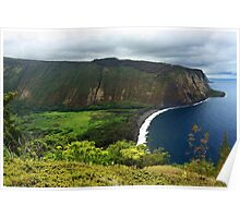 Waipio Valley Poster