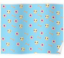 Creepy Cute pattern Poster