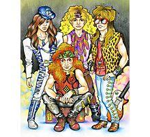80s hairband - 80s love, 1980s, I love the 80s, hairbands Photographic Print