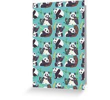 Whole Lotta Panda Greeting Card