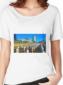Docklands and Etihad Stadium - Melbourne, Victoria Women's Relaxed Fit T-Shirt