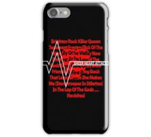 SHEER HEART ATTACK iPhone Case/Skin