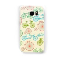 colourful bicycles Samsung Galaxy Case/Skin