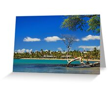Anaehoomalu Bay Greeting Card