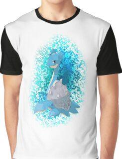 Pokemon Lapras Graphic T-Shirt