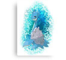 Pokemon Lapras Canvas Print