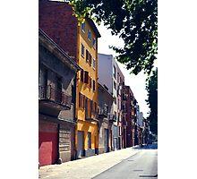 European Houses Photographic Print