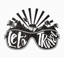 Let's Travel Kids Tee