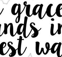 Your grace - Hillsong United - Oceans Sticker